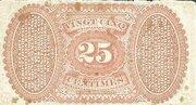 25 Centimes – reverse