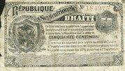 50 Centimes (Northern Republic of Haiti) – obverse