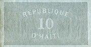 10 Gourdes – reverse