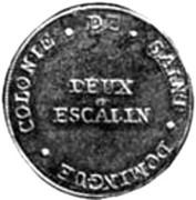 2 Escalins – reverse
