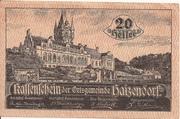 20 Heller (Haizendorf) -  obverse