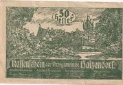 50 Heller (Haizendorf) -  obverse