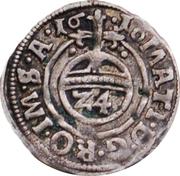 1 Groschen - Christian of Halberstadt – reverse