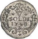 5 Soldi - Thomas III – reverse