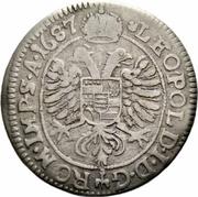 15 Kreuzer - Georg Philip – reverse