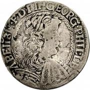 15 Kreuzer - Georg Philip – obverse