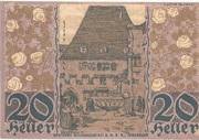 20 Heller (Hall in Tirol - Einsiedler) -  reverse