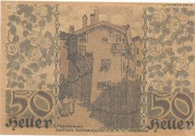 50 Heller (Hall in Tirol - Einsiedler) – reverse