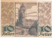 10 Heller (Hall in Tirol - Einsiedler) – reverse