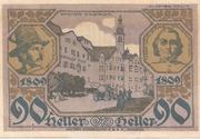 90 Heller (Hall in Tirol - Einsiedler) – reverse