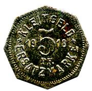 5 Pfennig (Hall [Schwäbisch-]) [Stadt, Württemberg] – reverse