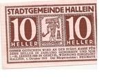 10 Heller (Hallein) -  obverse
