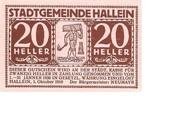 20 Heller (Hallein) -  obverse