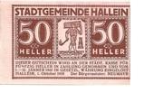 50 Heller (Hallein) – obverse