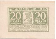 20 Heller (Hallein) – obverse