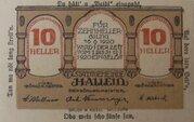 10 Heller Hallein – obverse
