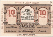 10 Heller (Hallein) – obverse