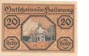 20 Heller (Hallwang) – obverse