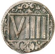 9 Pfennig – reverse