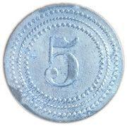 5 Pfennig - Hamborn (Zeche Neumühl) -  obverse