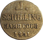 1 Schilling – reverse