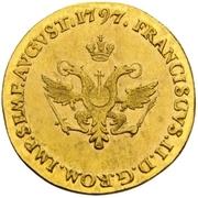 8 Schilling (Gold pattern strike) – reverse