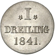 1 Dreiling – reverse