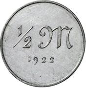 ½ Mark (Pattern) – reverse