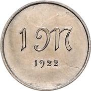 1 Mark (Pattern) – reverse
