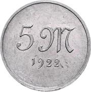 5 Mark (Pattern) – reverse