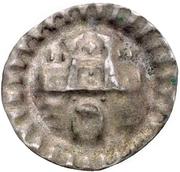 1 Pfennig (Hohlpfennig) – reverse