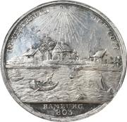 Medal - 1000 year celebration of the city of Hamburg – obverse