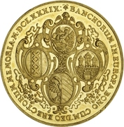Medal - Bank Portugalöser (Hamburg) – reverse