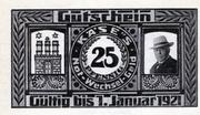 25 Pfennig (H. Käse) – obverse