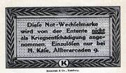 25 Pfennig (H. Käse) – reverse