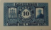 10 Pfennig (H. Käse) – obverse