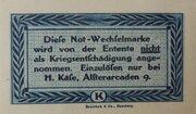 10 Pfennig (H. Käse) – reverse
