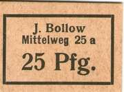25 Pfennig (J. Bollow) – obverse