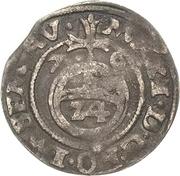1/24  Thaler - Maximilian II. – reverse