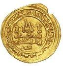 Dinar - al-Mu'tali Yahya (Hammudid of Malaga) – obverse