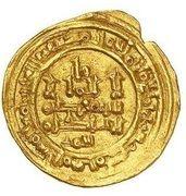 Dinar - al-Mu'tali Yahya - 1021-1035 AD (Hammudid of Malaga) – obverse