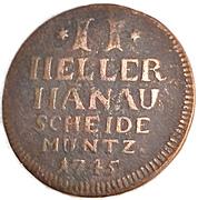 2 Heller - Wilhelm VIII – reverse