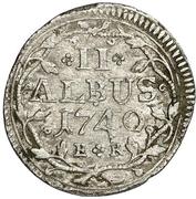 2 Albus - Wilhelm VIII. – reverse
