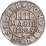 4 Mariengroschen – reverse