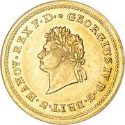 10 Thaler - George IV – obverse