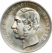 1 Thaler - Georg V – obverse