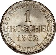1 Groschen - Georg V – reverse