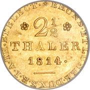 2½ Thaler - George III – reverse