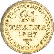 2½ Thaler - George IV – reverse