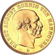 2½ Thaler - Ernst August -  obverse
